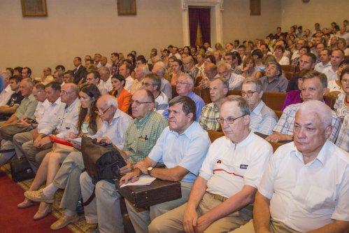 Собрание трудового коллектива в ДНУ